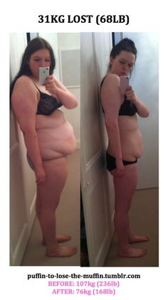 oh, how i need to lose weight! but I know me, and even if I had this radical before and after, I would still hate my body :(