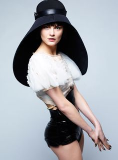 I know that Balenciaga creates some amazing fashion, but the hat just makes me think of Space Balls...