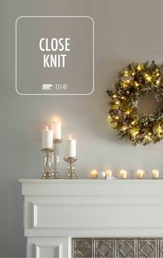 This collection of neutral gray color palettes from BEHR is great for a variety of DIY home makeover projects. Use this soft shade of Close Knit for your living room walls or to give an old piece of furniture new life. Whatever your design style, there's a color palette that's just right for you.
