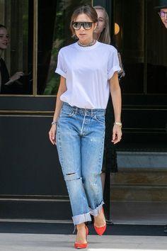 Best dressed - Victoria Beckham in Paris