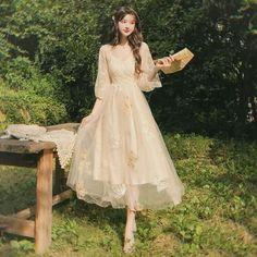 Pretty Outfits, Pretty Dresses, Elegant Dresses, Vintage Dresses, Beautiful Dresses, Fairytale Dress, Fairy Dress, Fairytale Fashion, Ball Dresses