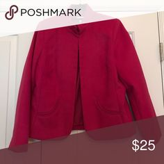 Jacket Versatile long sleeve jacket with curved pockets Chico's Jackets & Coats Blazers