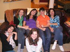 Michelle and Michelle and grandchildren
