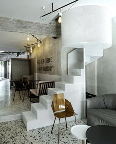 Gallery of Black Drop Coffee Shop / ark4lab of Architecture - 34