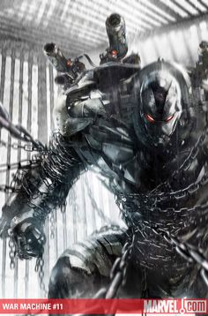 War Machine: In my biased opinion, He's the cooler version of Iron Man.