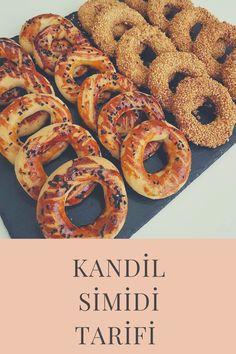 Kandil Simidi Turkish Recipes, Ethnic Recipes, Istanbul Travel, Onion Rings, Sausage, Pasta, Meat, Food, Sausages