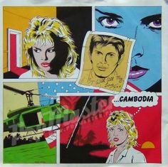 Kim Wilde - Cambodia: Single, Sol For Sale Kim Wilde, The New Wave, Vintage Vinyl Records, Get Shot, Music Photo, Comic Artist, Led Zeppelin, Rock Music, Cambodia