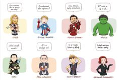 Avengers Quotes Print. $10.00, via Etsy. loki