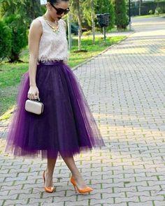 Фатиновые юбки . Подборка. #детали_вм
