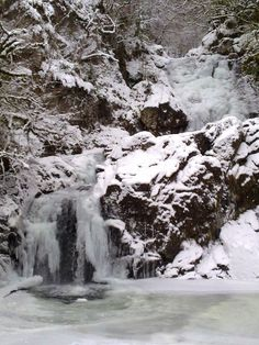 Caig Falls in Spean Bridge - where you can get married outdoors! via Flickr.