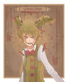 Springtrap by tea-hee on @DeviantArt