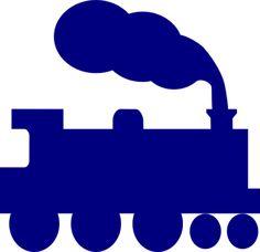 Train Silhouette Clip Art