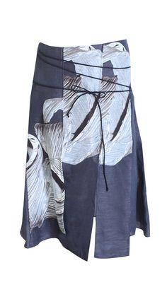 Tibi - Midori Silk Asymmetric Skirt