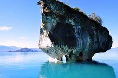 Marble Caves, Patagonia, Chile -  General Carrera Lake