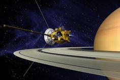 Hanya ilustrasi. Kredit: NASA/JPL-Caltech   SpaceNesia - Wahana antariksa Cassini milik NASA bakal mendekati Titan, satelit alami terbes...