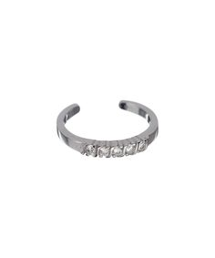Cubic Zirconia & Sterling Silver Toe Ring