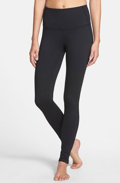 Zella 'Live-In' Slim Fit High Waisted Leggings (Online Only) - size large