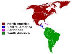 Major Regions of the Americas, North America