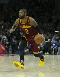 4f4ba3aeea4 Pay attention to the crowd and the Cleveland Cavaliers  bench when Kyrie  Irving is about to dribble.