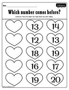 Free printable Valentine's Day activities for kindergarten - color by number, letters and numbers worksheets. Perfect for literacy centers or morning work. Free Kindergarten Worksheets, Homeschool Kindergarten, Free Preschool, Daycare Curriculum, Kindergarten Readiness, Kindergarten Morning Work, Kindergarten Colors, Valentines Day Activities, Science