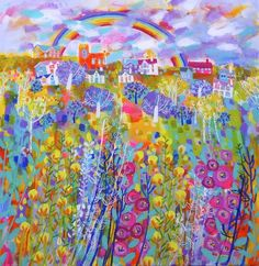 Rainbow Flying High - Claire West