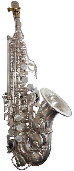 Rampone & Cazzani R1 Jazz Curved Sopranino Sax --- https://www.pinterest.com/lardyfatboy/
