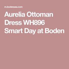 Aurelia Ottoman Dress WH896 Smart Day  at Boden