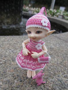 Pink realpuki outfit
