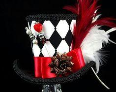 Alice inspired mini top hat