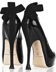 Brian Atwood Donna pumps...I hate pins that don't really go anywhere, but I loveee these shoes!