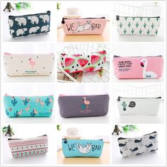 1pcs Flamingos Cactus Pencil Case Canvas School Supplies Kawaii Stationery Estuches Chancery School Cute Pencil Box Pen Bags Price: 7.95 & FREE Shipping #staysafe #practicesafetyguidlines #fashion|#sport|#tech|#lifestyle
