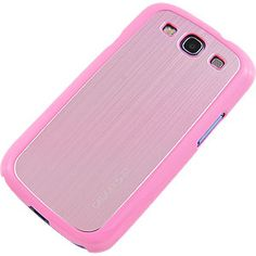 #Metal Back Cover for #Samsung Galaxy S III, Pink/Pink $12.99 From #DayDeal