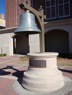 Old Houston County Bell (Dothan, Alabama) ...hung in the bell tower of original courthouse.