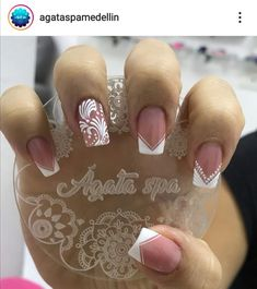 Manicure Nail Designs, Fall Nail Designs, Acrylic Nail Designs, Nail Manicure, Semi Permanente, Super Nails, Cute Acrylic Nails, Creative Nails, Short Nails