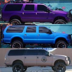 My Dream Car, Dream Cars, Ford Excursion Diesel, Lincoln Aviator, Truck Memes, Car Colors, Ford Expedition, Chevy Pickups, Lifted Ford