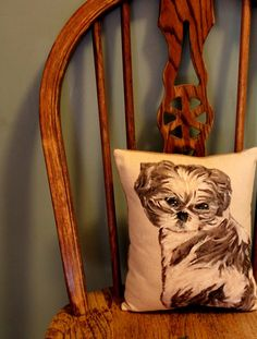 Missing My Pup & a Pottery Barn Inspired Pet Pillow | A Lovely Place To Land