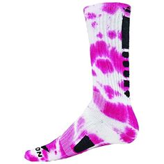 Red Lion Maxim Tie Dye Athletic Socks ( Neon Pink / White - Medium ) *** You can find more details by visiting the image link. (This is an affiliate link) #Socks