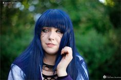 Flustered - Sayuri Shinichi(Sayuri  / Laladi) Hinata Hyuga Cosplay Photo