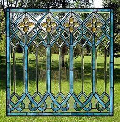 Beautiful glass pane