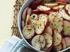 Poppy-Seed Potato Salad recipe from Food Network Kitchen via Food Network