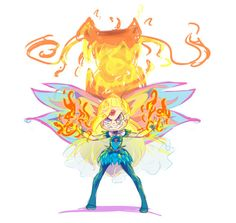 Star vs the forces of evil with winx
