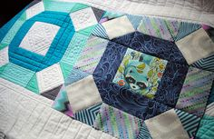 Power of Nine BOM Block 7 by Sherri Noel-This is one of my favorite blocks in this quilt… It goes together quick and it's just a fun block!