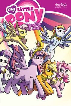 MLP IDW Omnibus Volume 2 Cover by Chad Thomas