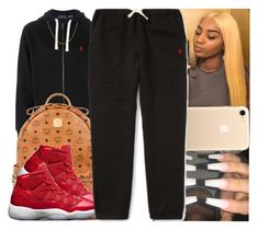 """""""Untitled #1361"""" by msixo ❤ liked on Polyvore featuring Polo Ralph Lauren and MCM"""