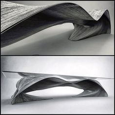 C.R.E.A.M. Full #furniture #design #table #concrete #brutalism #industrialdesign #geometry #nature #curvature #motion