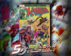X-MEN # 104 Comic del año 1977, homenaje a la primera aparición delos x-men. $ 900.00 Para más información, contáctanos en http://www.facebook.com/la5aDimension