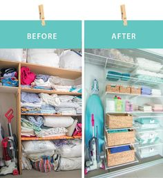 Sophie's Linen Cupboard Makeover – See the transformation