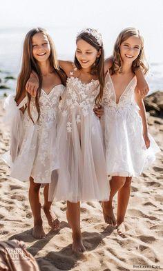 pollardi kids 2021 childrens strapless sweetheart short a line blush flower girl dresses (1) mv -- Pollardi Kids 2021 Flower Girl Dresses | Wedding Inspirasi #wedding #weddings #bridal #weddingideas #children #collection:Kids #flowergirls #label:Pollardi #week:492020 #year:2021 ~