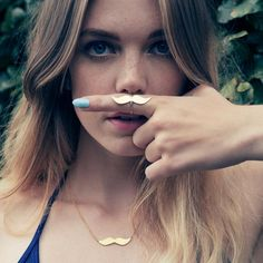 Tasha Ring, quirky women's jewellery  #moustache #mo #jewelry #giftsforher #giftideas
