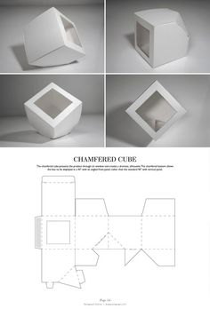Chamfered Cube - Packaging & Dielines: The Designer's Book of Packaging Dielines: